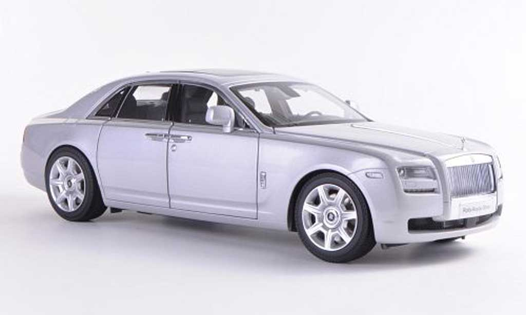 Rolls Royce Ghost SWB 1/18 Kyosho (H22) grise LHD  miniature