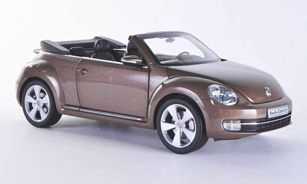 volkswagen beetle cabriolet braun kyosho modellauto 1 18 kaufen verkauf modellauto online. Black Bedroom Furniture Sets. Home Design Ideas