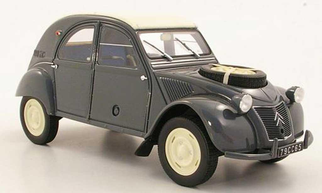 Citroen 2CV 1/18 Ottomobile 4x4 Sahara grise miniature