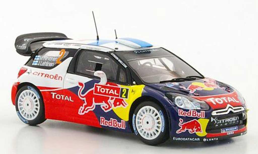 DS Automobiles DS3 WRC 2012 1/43 Spark WRC 2012 No.2 Total M.Hirvonen / J.Lehtinen Rally Monte Carlo diecast model cars
