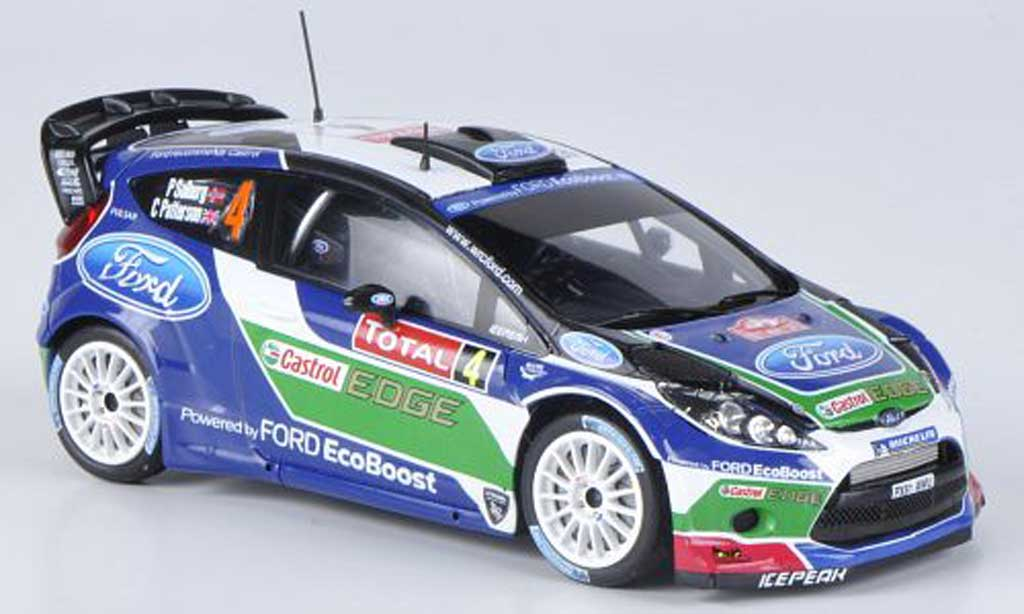 Ford Fiesta WRC 1/43 Spark No.4 Castrol P.Solberg / C.Patterson Rally Monte Carlo 2012 miniature