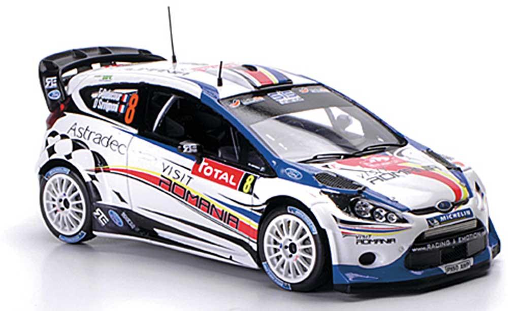 Ford Fiesta WRC 1/43 Spark No.8 Romania Rally Monte Carlo 2012 miniature