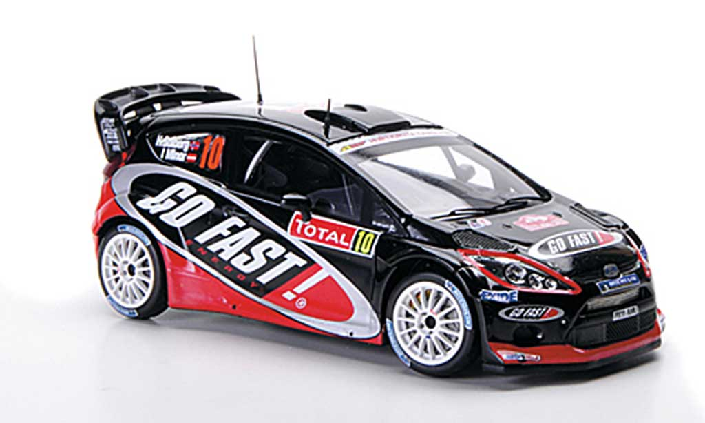 Ford Fiesta WRC 1/43 Spark No.10 Go Fast Rally Monte Carlo 2012 miniature
