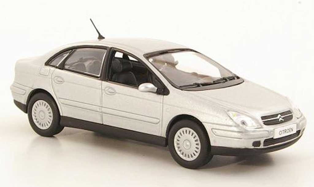 Citroen C5 1/43 Norev grise 2001 miniature