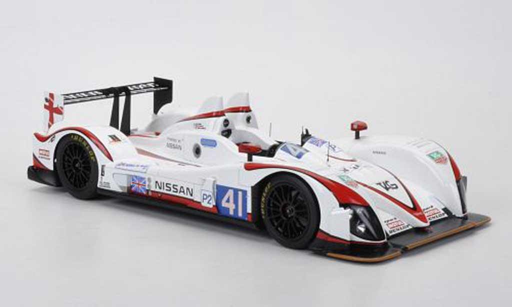 Nissan Zytek 1/18 Spark No.41 Greaves Motorsport K.Ojjeh/T.Kimber/Savech/O.Lombard 24h Le Mans 2011 diecast model cars