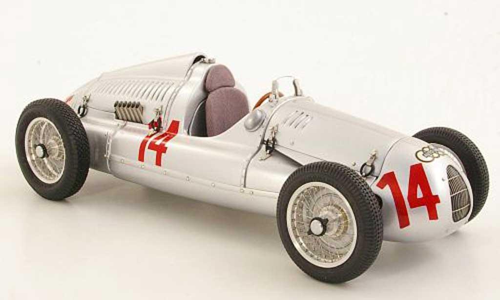 Auto Union Typ D 1/18 CMC No.14 G. Schorsch Meier GP Frankreich 1939 miniature