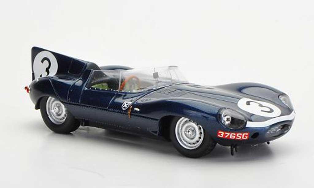 Jaguar D-Type 1957 1/43 Spark 1957 No.3 I.Bueb/R.Flockhart 24h Le Mans miniature