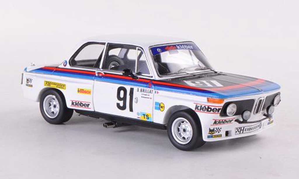 Bmw 2002 Tii 1/43 Spark No.91 24h Le Mans D.Brillat/G.Gagliardi/M.Degoumois miniature