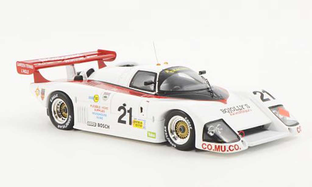March 85 G 1/43 Spark G No.21 RC Racing R.Cleare / L.Robert / J.Newsum 24h Le Mans 1986 miniature