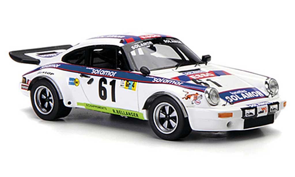 Porsche 930 1/43 Spark No.61Solamor 24h Le Mans 1977 diecast model cars
