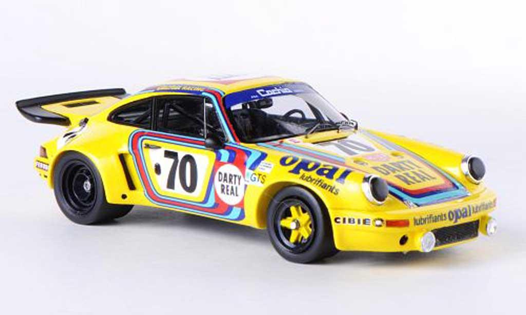 Porsche 930 1/43 Spark R No.70 Darty Real/Opal 24h Le Mans 1974 R.Touroul/H.Cachia/D.Rua miniature