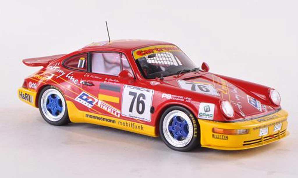 Porsche 964 Carrera Cup 1/43 Spark No.76 Lorinser 24h Le Mans 1993 E.Calderari/L.Pagotto/L.Keller miniature