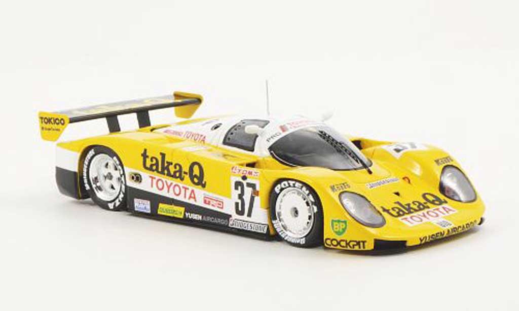 Toyota 89C 1/43 Spark V No.37 taka-Q Team Tom's J.Dumfries / G.Lees / J.Watson 24h Le Mans 1989 miniature