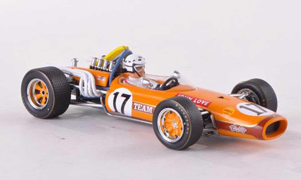 Brabham T20 1/43 Spark No.17 Team Gunston GP Sudafrika 1968 J.Love miniature