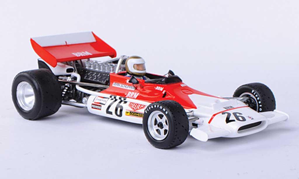 Brm P153 1972 1/43 Spark No.26 Marlboro V.Schuppan GP Belgien miniature