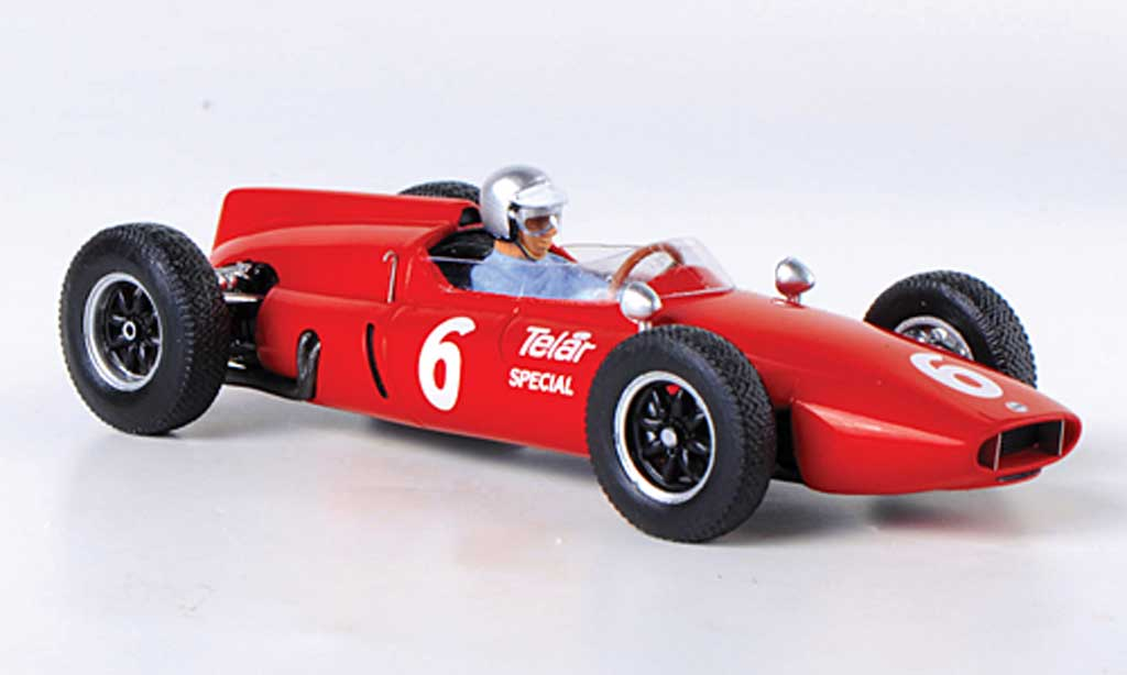 Cooper T53 1/43 Spark No.6 R.Penske GP USA 1961 miniature