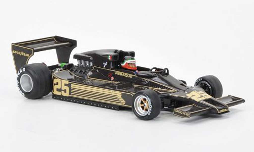Lotus F1 1978 1/43 Spark 78 No.25 Team H.Rebaque GP Deutschland miniature