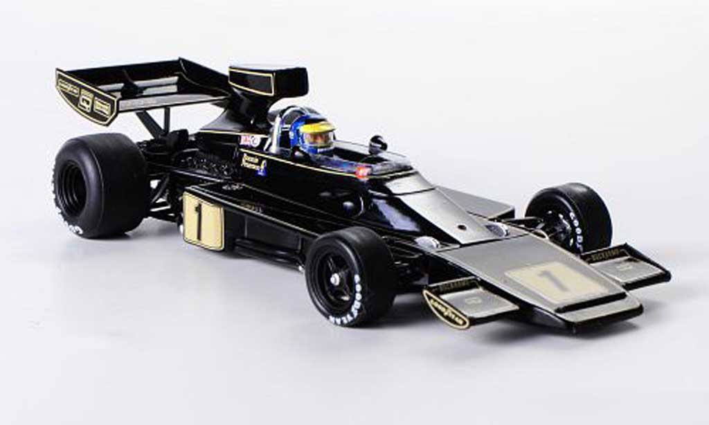 Lotus 76 1/43 Spark No.1 John Player Special R.Peterson GP Deutschland 1974 diecast model cars