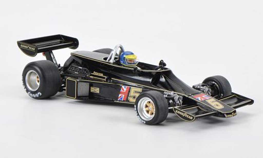 Lotus F1 1976 1/43 Spark 77 No.5 Team R.Peterson GP Brasilien 1976 miniature