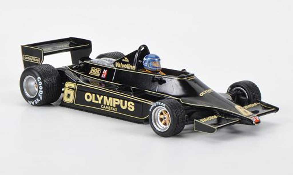 Lotus F1 1978 1/43 Spark 79 No.6 Team R.Peterson GP Osterreich 1978 miniature