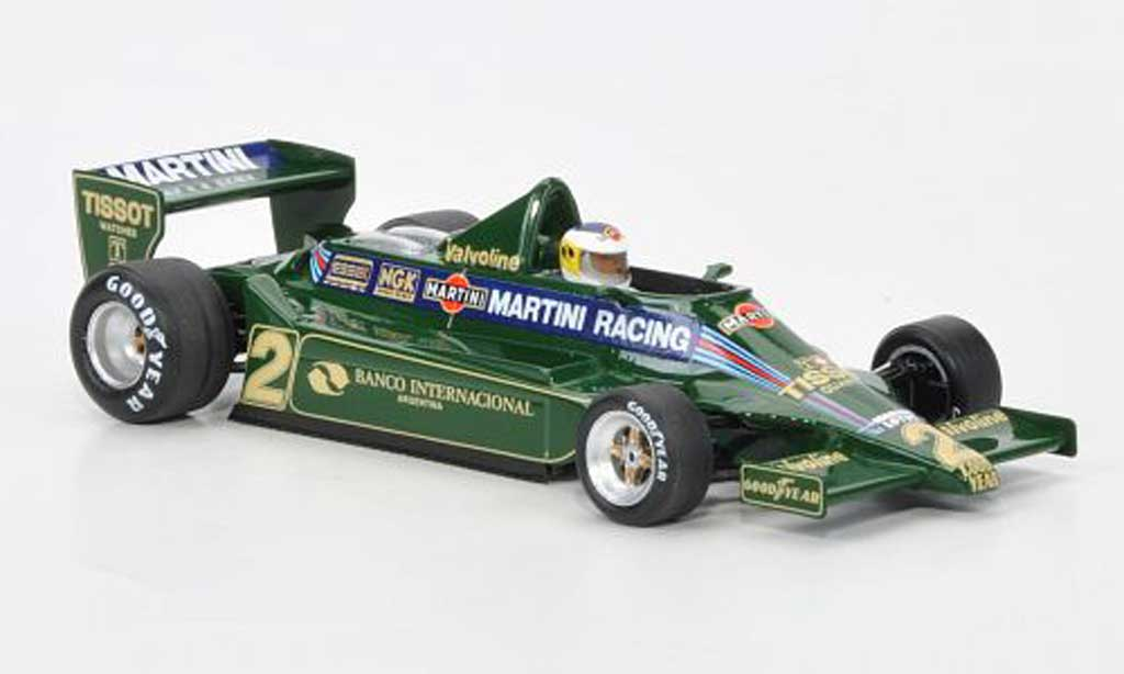 Lotus F1 1979 1/43 Spark 79 No.2 Martini Racing C.Reutemann GP Argentinien miniature