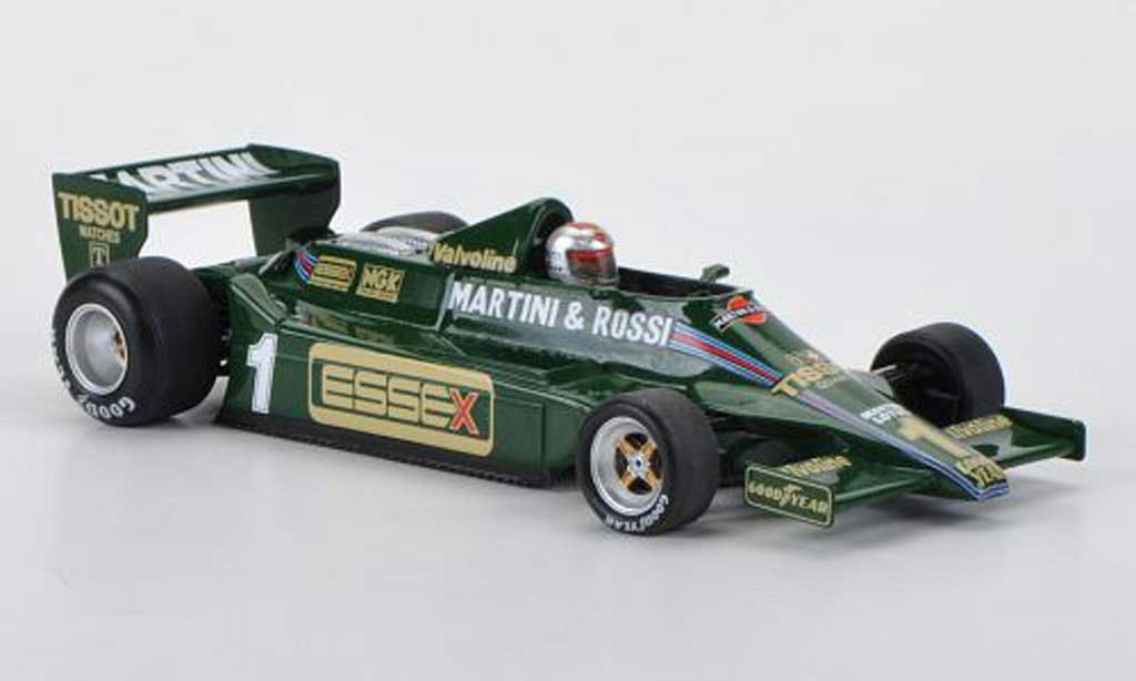 Lotus F1 1979 1/43 Spark 79 No.1 Martini/Essex M.Andretti GP Long Beach miniature
