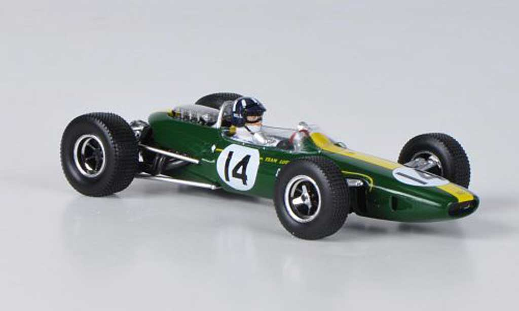 Lotus F1 1967 1/43 Spark Team 33 BRM No.14 G.Hill GP Monaco miniature