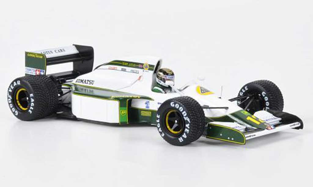 Lotus F1 1991 1/43 Spark 102B No.12 Team . J.Bailey GP San Marin miniature