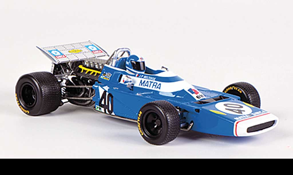 Matra MS120 1/43 Spark No.40 J.-P.Beltoise GP Italien 1970 miniature