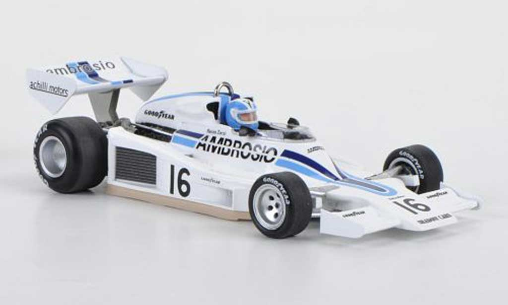 Shadow DN8 1977 1/43 Spark No.16 Ambrosio Renzo Zorzi GP Long Beach 1977 miniature