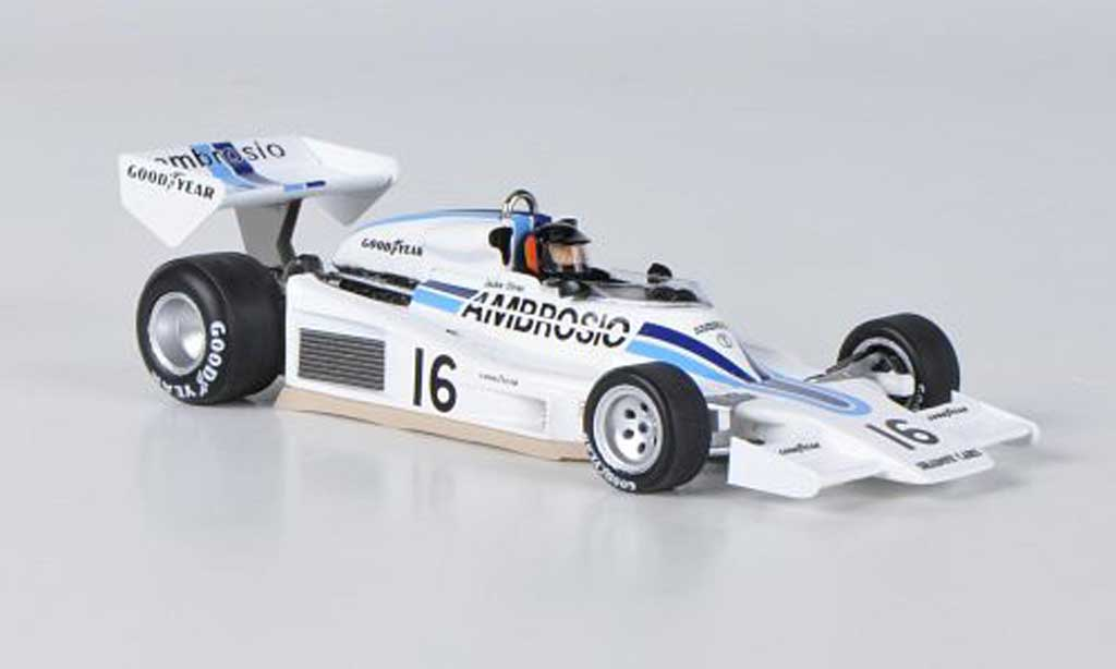 Shadow DN8 1977 1/43 Spark No.16 Ambrosio J.Oliver Race of Champion 1977 miniature