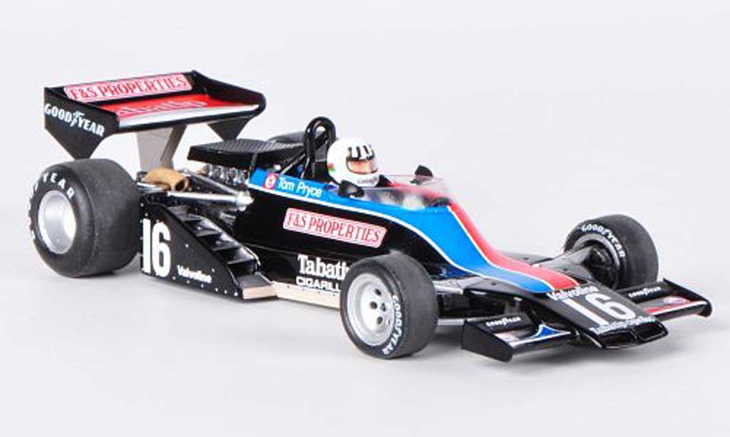 Shadow DN8 1976 1/43 Spark No.16 Tabatip T.Pryce GP Holland miniature