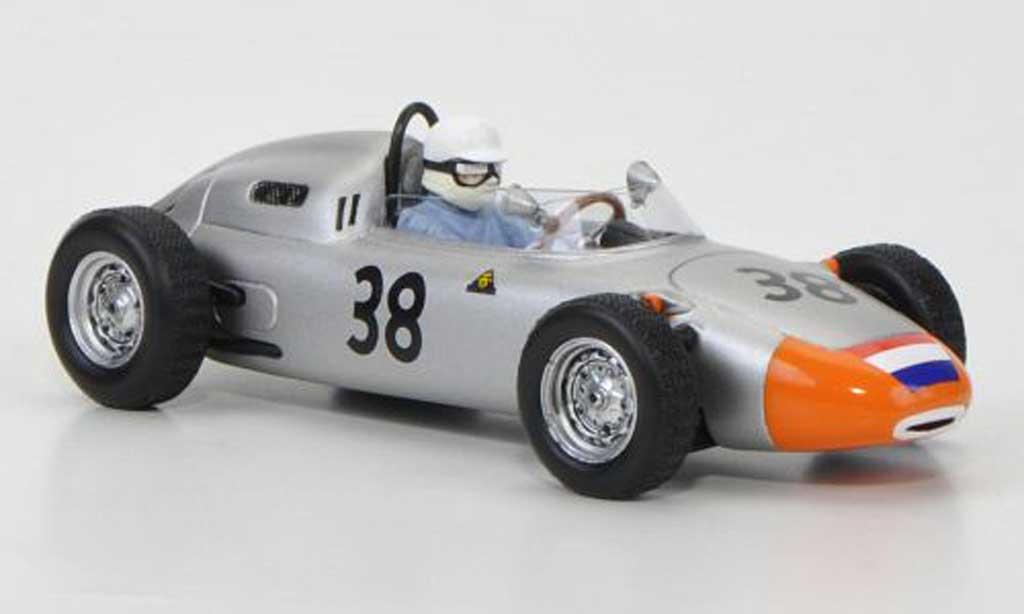 Porsche 718 1962 1/43 Spark No.38 C.Godin de Beaufort GP Frankreich miniature