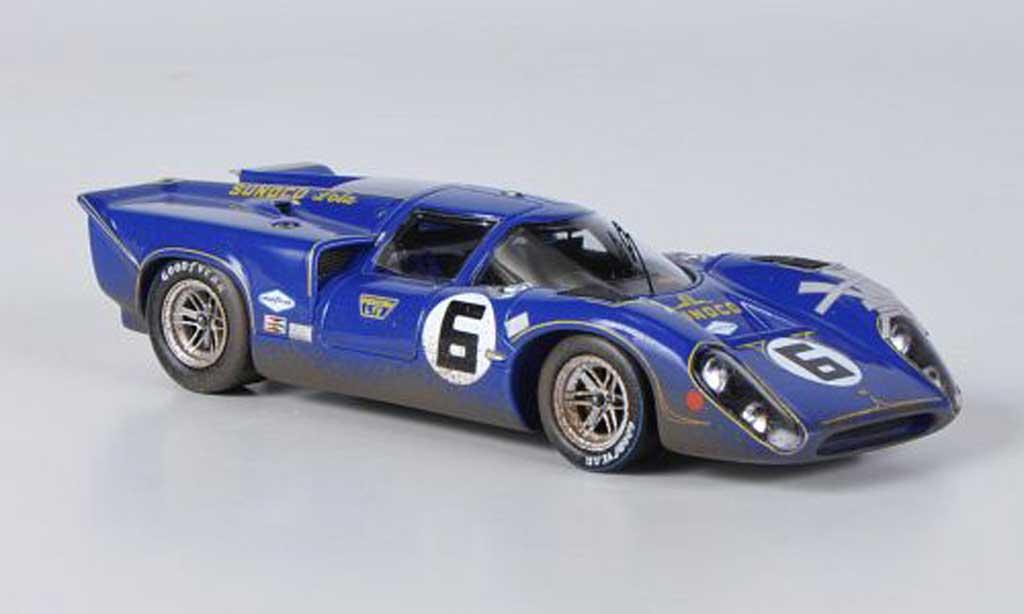 Lola T70 1969 1/43 Spark MK3B No.6 Sunoco 24h Daytona miniature