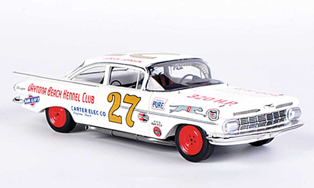 Chevrolet Biscayne 1/43 Spark No.27 J.Johnson Daytona 500 1960 diecast model cars