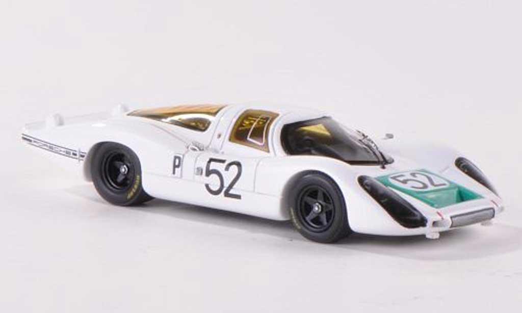 Porsche 907 1968 1/43 Spark LH No.52 24h Daytona J.Siffert/H.Herrmann/G.Mitter miniature