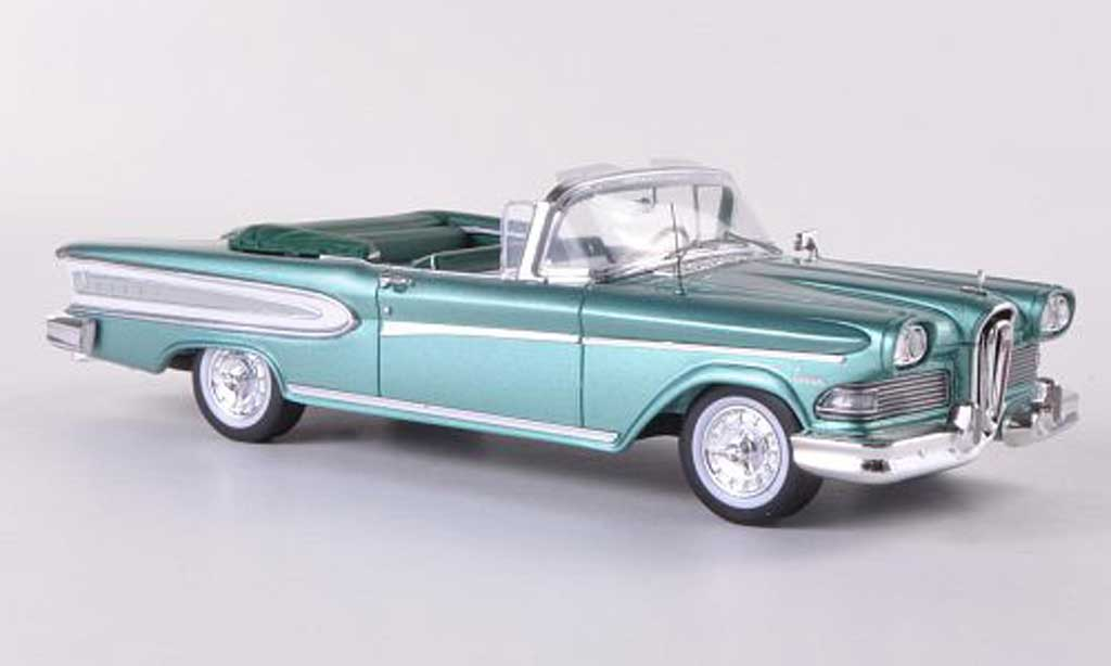 Edsel Citation 1/43 Spark Convertible verte/blanche  1958 miniature