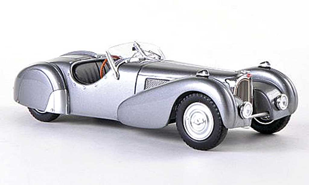 bugatti 57 s roadster grau 1937 spark modellauto 1 43 kaufen verkauf modellauto online. Black Bedroom Furniture Sets. Home Design Ideas