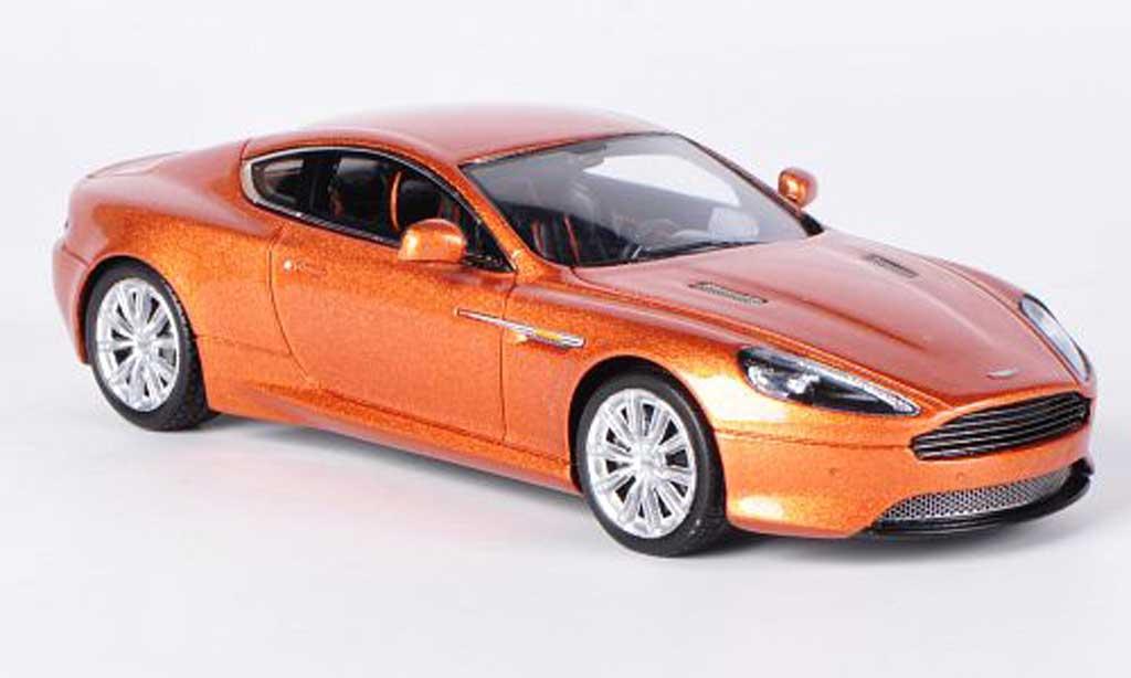 Aston Martin Virage 1/43 Spark marron LHD 2012 miniature