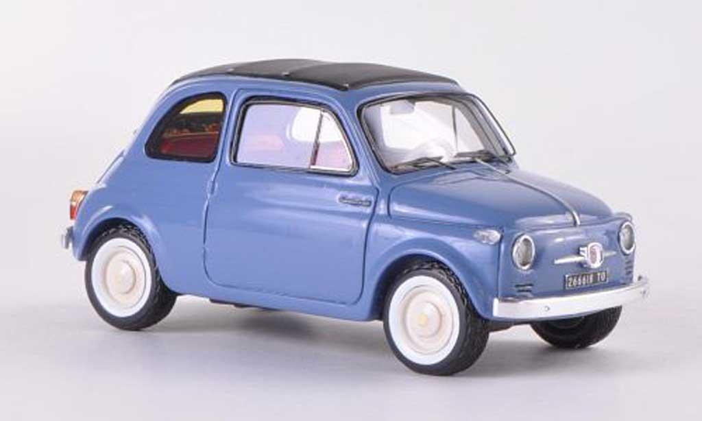 Fiat 500 1/43 Spark Nuova graybleu  1957 diecast