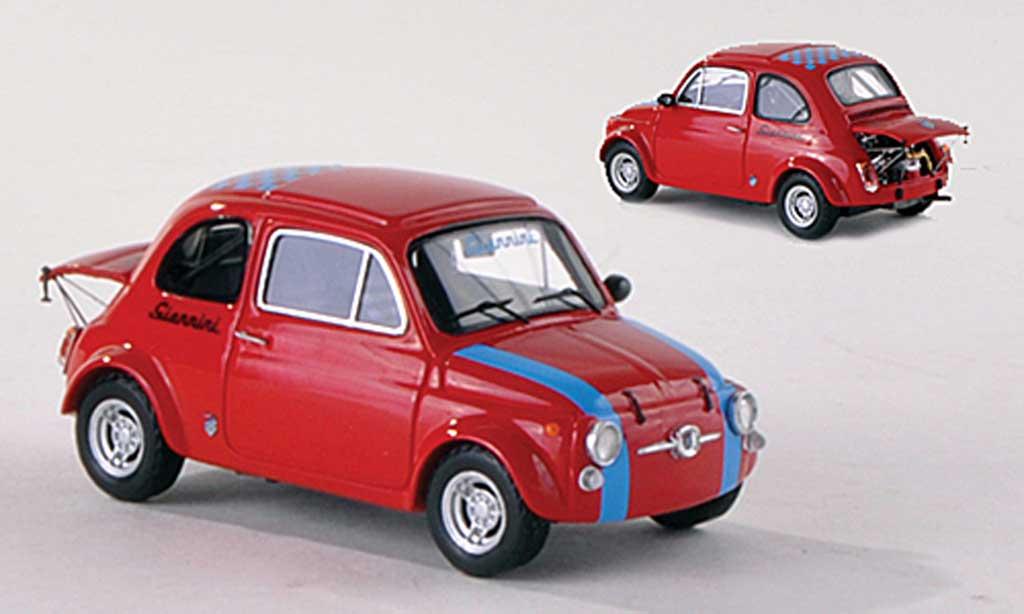fiat 695 miniature giannini rouge 1971 spark 1 18 voiture. Black Bedroom Furniture Sets. Home Design Ideas