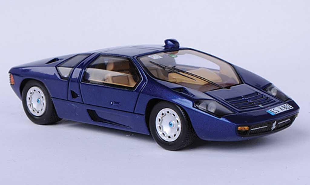 Isdera Imperator 1/43 Spark 108i bleu 1984 miniature