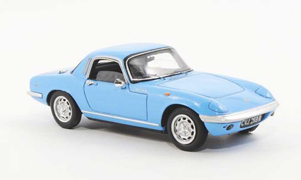 Lotus Elan 1/43 Spark S3 FHC bleu RHD 1965 modellautos