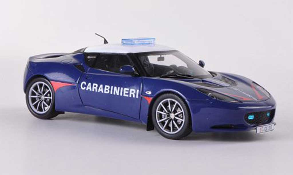 Lotus Evora S 1/43 Spark Carabinieri Polizei (I) LHD  2011 miniature