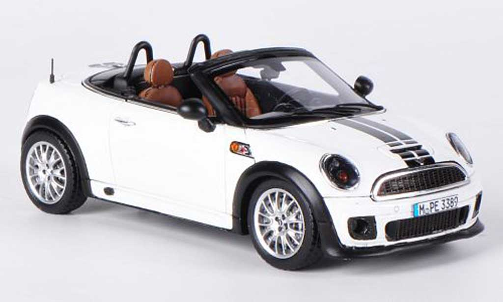 mini roadster white black 2012 spark diecast model car 1 43 buy sell diecast car on alldiecast. Black Bedroom Furniture Sets. Home Design Ideas