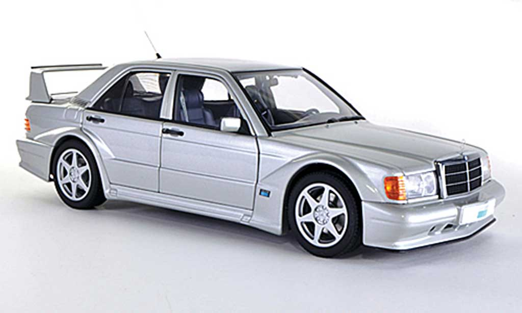 Mercedes 190 Evo 1/18 Autoart E 2.5-16V EVO 2 (W201) grey 1989 diecast model cars
