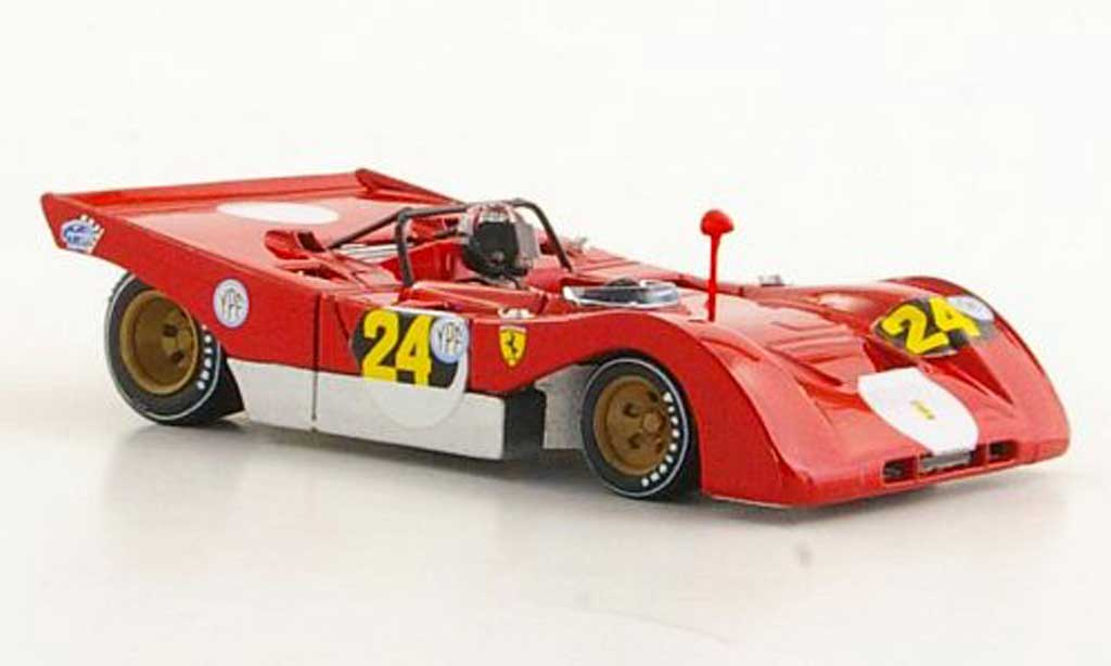 Ferrari 312 PB 1/43 Brumm No.24 I.Giunti 1000Km Buenos Aires 1971 modellino in miniatura