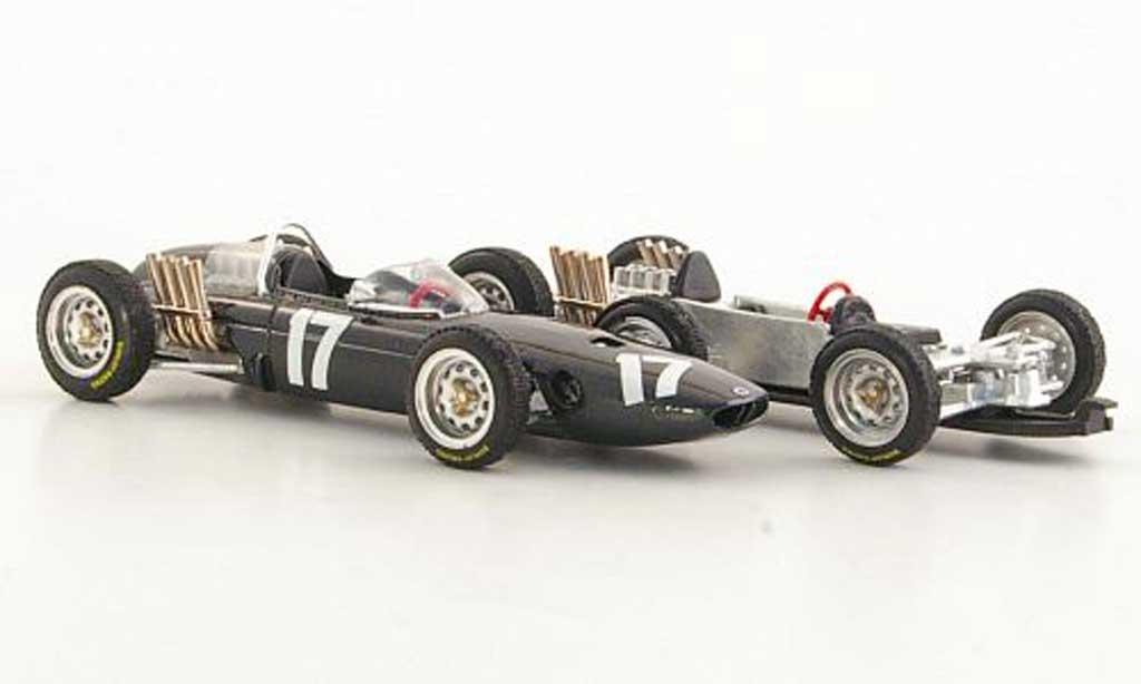 Brm P57 1/43 Brumm No.17 G.Hill GP Holland 1962 miniature