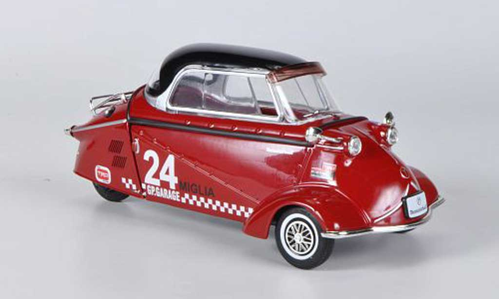 Messerschmitt KR 200 1/18 Revell rouge No.24 GP.Garage miniature