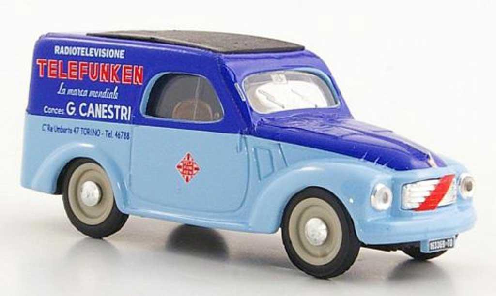 Fiat 500 C 1/43 Brumm Belvedere Telefunken Service 1950 diecast model cars